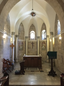 One of many side chapels in the cathedral.