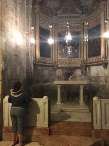 One of the many side chapels of the Holy Sepulchre