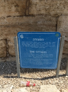 Sign for the Citadel