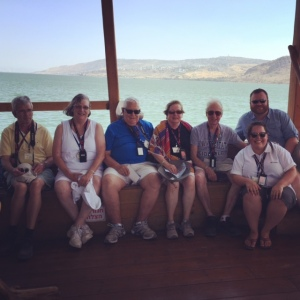 Lancaster 7 on the Sea of Galilee