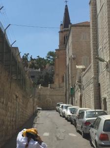 Road Leading to Christ Church Nazareth