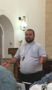 Rev. Neal, Rector Christ Church Nazareth