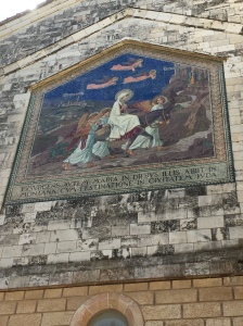 Mural on Front of Church