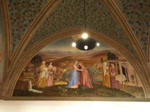 Mural of Visitation