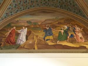 Fleeing Mural