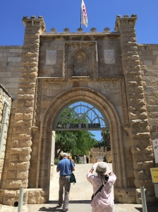 Entrance to the Church of John the Baptist
