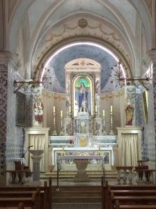 Altar in the Church of John the Baptist