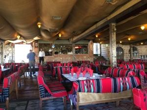 Inside the Tent restaurant