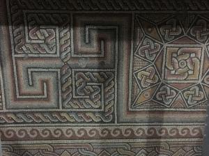 Constantine's 4th Century mosaic floor.