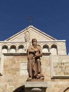 The Statue of Saint Jerome.