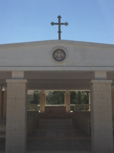 A chapel at the Baptismal Site.