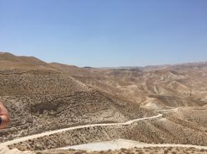 The Judean Wilderness.