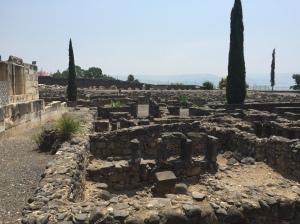 Ruins in Capernaum.