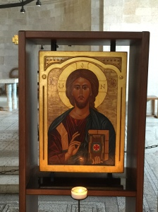 An icon in the Church of the Multiplication.