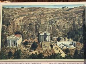 An artist's rendition of what the temples would have looked like during the time of Jesus.
