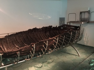 More of the ancient boat.
