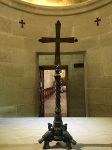 The Chapel Cross in the Chapel of Moses.