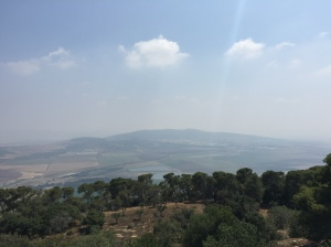 Another view out towards the Jezreel Valley.