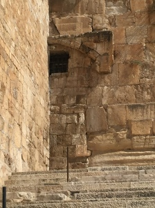 What remains of the sealed up Haddah gate.