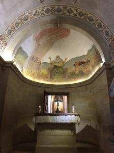 The Chapel of Elijah.