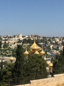 A Russian Orthodox Church on the Mount of Olives