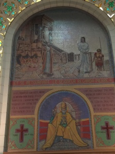 Another mural from the first level.