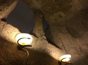 Inside the pit where Jesus was imprisoned.