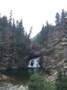 A closer look at Eagle Falls.