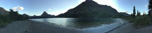 Another panoramic shot of Two Medicine Lake.