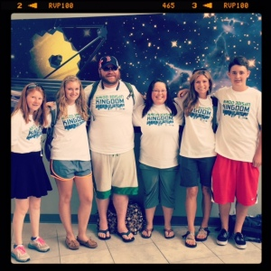 Our final group photo at BWI...minus Grace who traveled home with her family.
